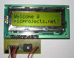 picprojects.net LCD welcome!